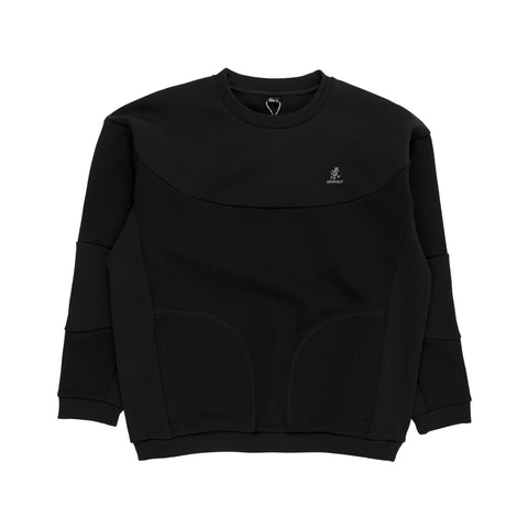 Gramicci Congaree Sweater in Black outer wear sweatshirt front