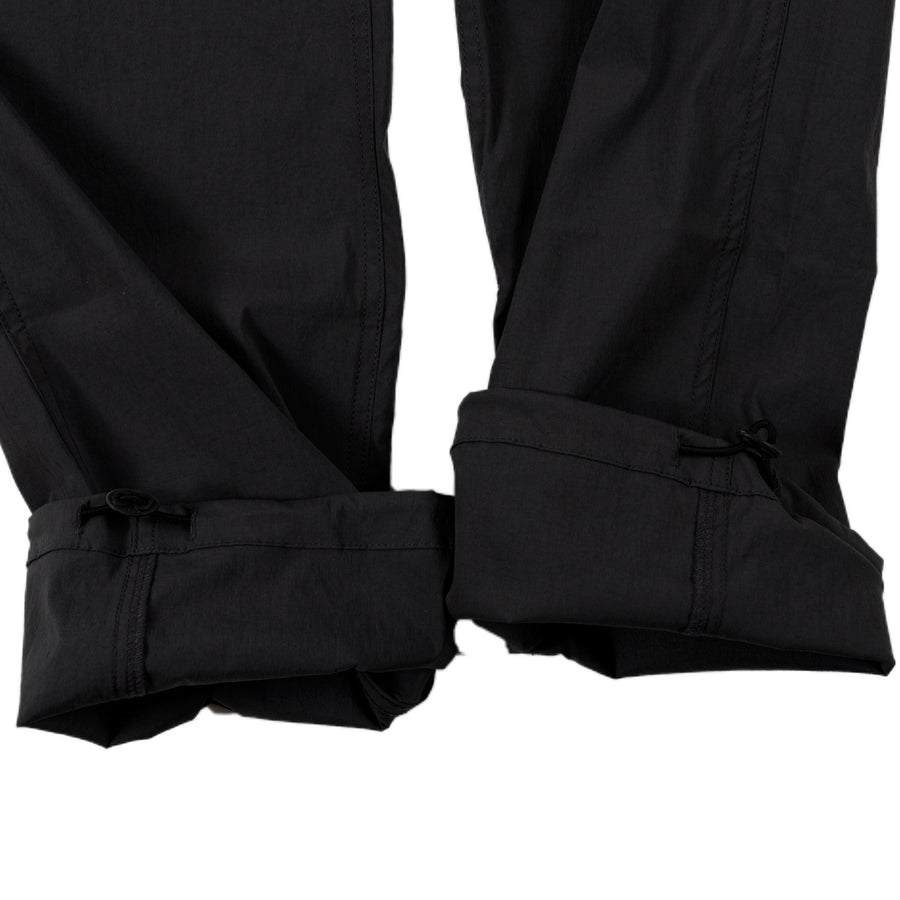 Gramicci Whitney Cordura Pant in Black rain gear all weather cuff