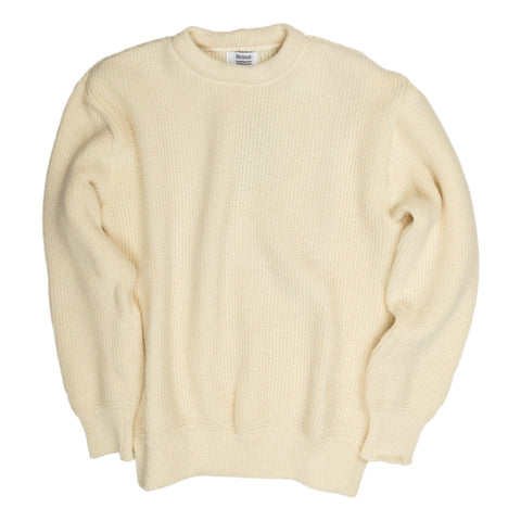 Heimat Crewneck Single Cuff in Sea Shell