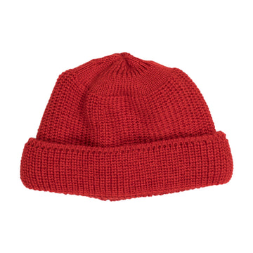 Heimat Deck Hat in Safety Red