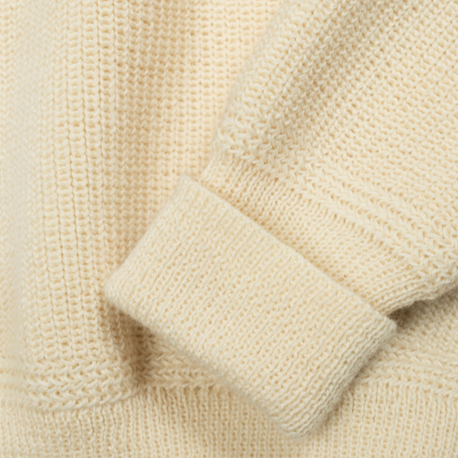 Mini Roll Neck Double Cuff - Sea Shell