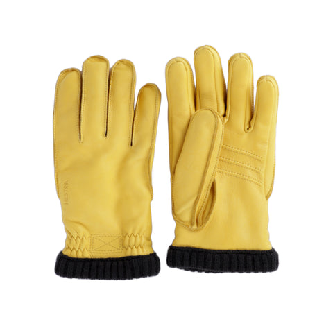 shop hestra gloves online yellow leather winter