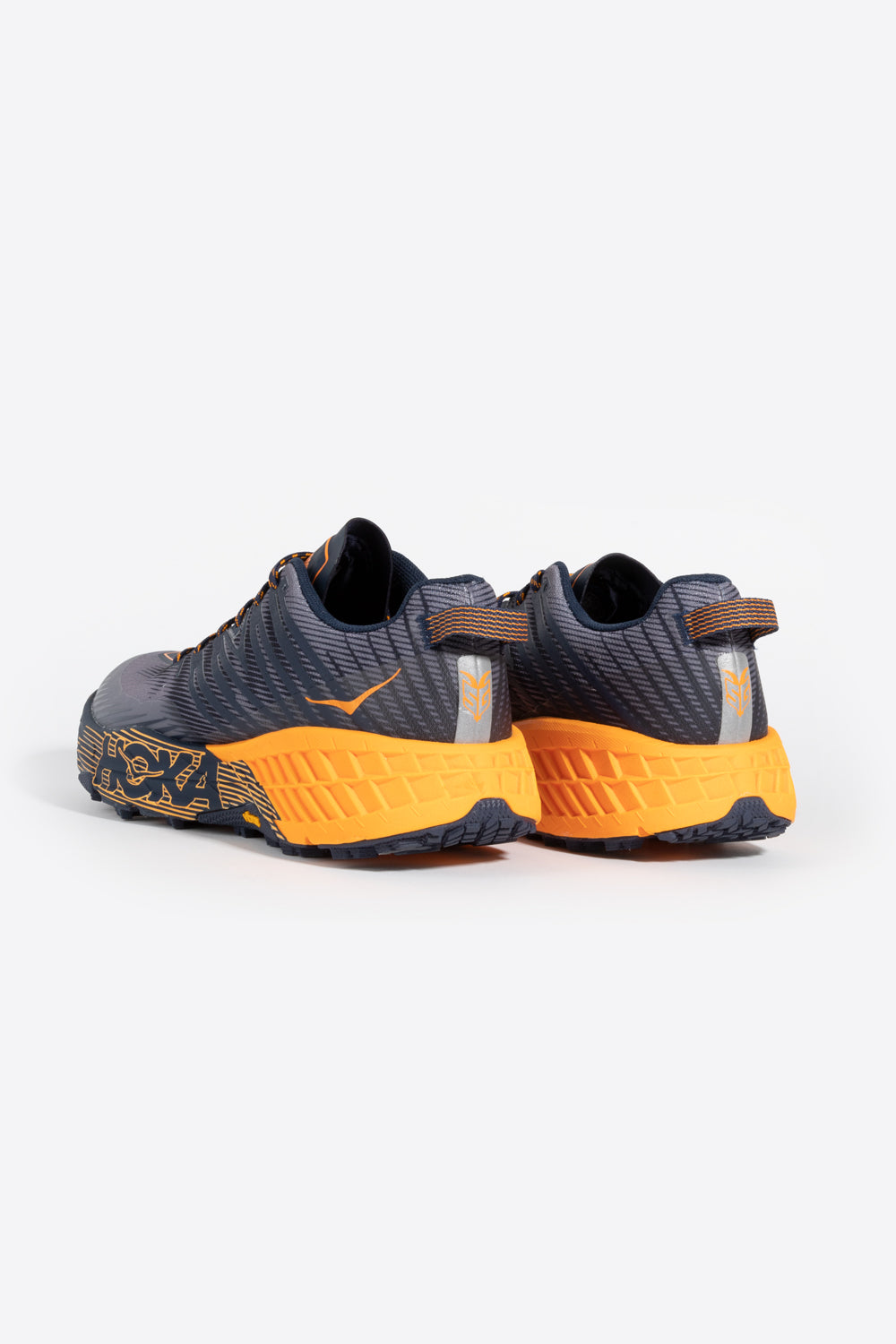 Hoka one one speedgoat 4 bright marigold black iris