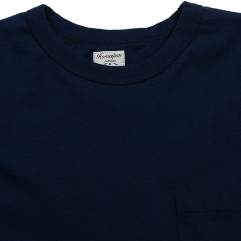 Dad's Pocket Tee - Indigo