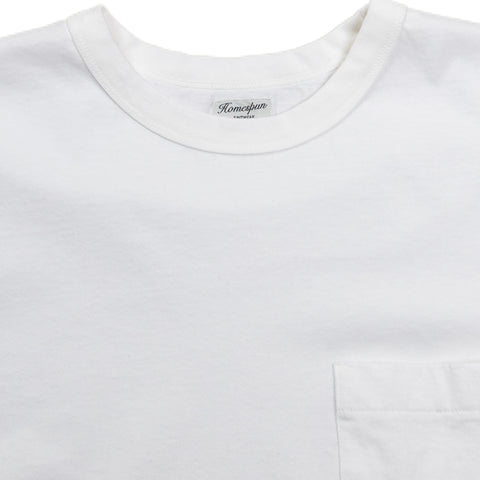 Dad's Pocket Tee - White