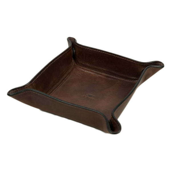 il bussetto change tray in brown