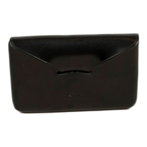 il bussetto envelope business card holder in black