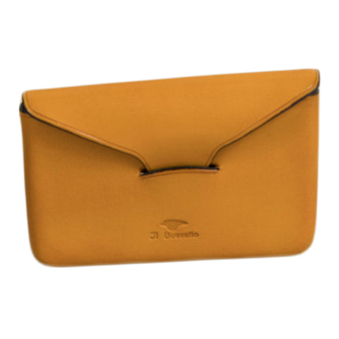 il bussetto envelope business card holder in ochre