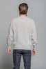 Crew Neck Saddle Shoulder Sweater