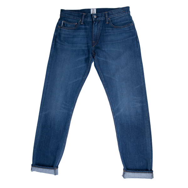 The Pen Slim Selvedge Denim Wash Lake