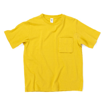 Pocket T-Shirt - Sulphur Yellow