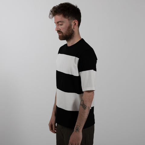 Border T-shirt Double Stripe - Black/White