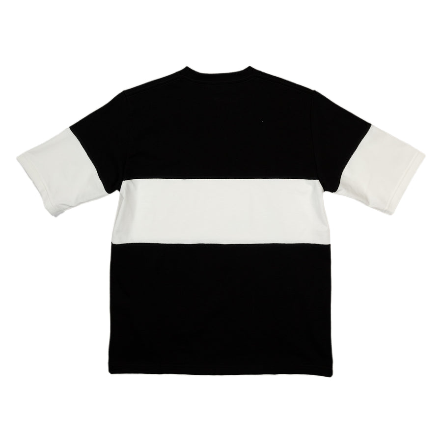 Border T-shirt One Stripe Black / White