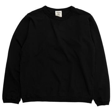 jackman ribbed long sleeve tshirt black