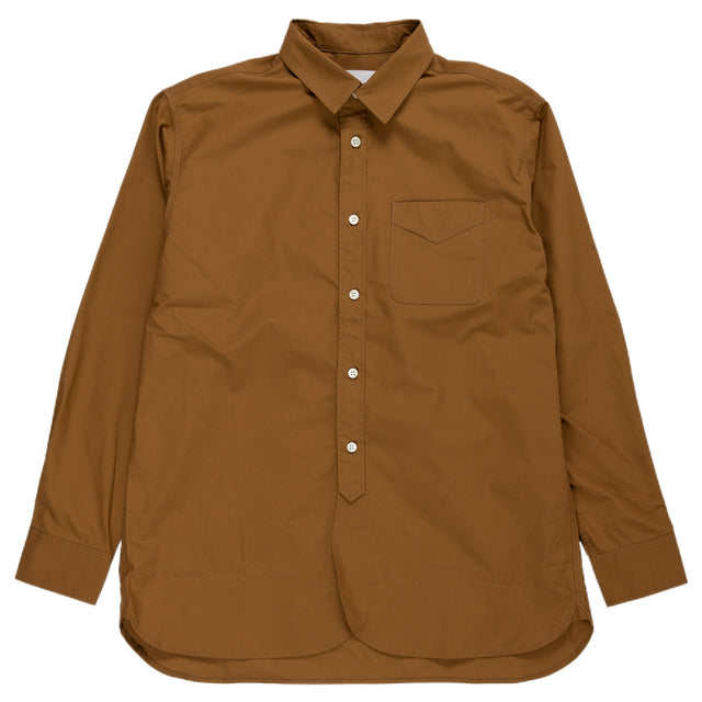 Kestin Hare Liverpool Shirt in Tobacco