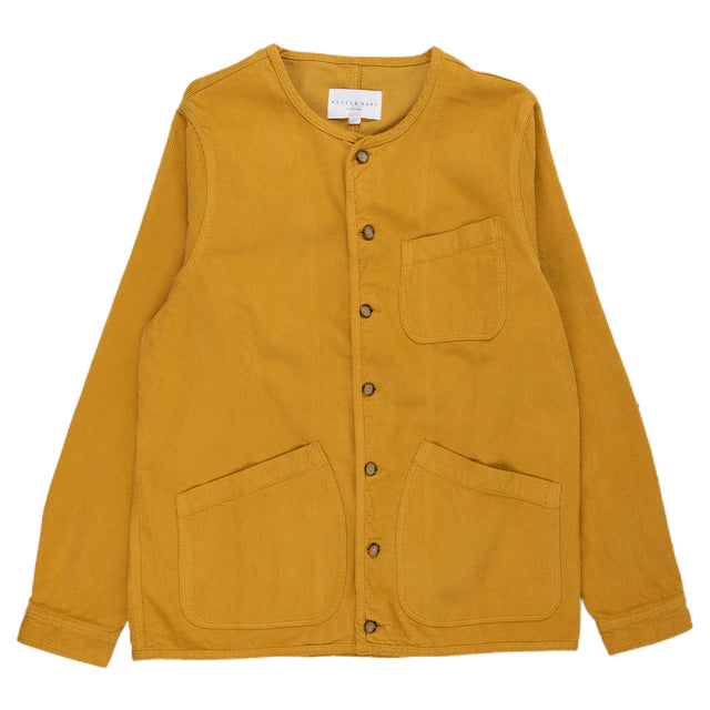 Kestin hare Neist Overshirt in Old Gold