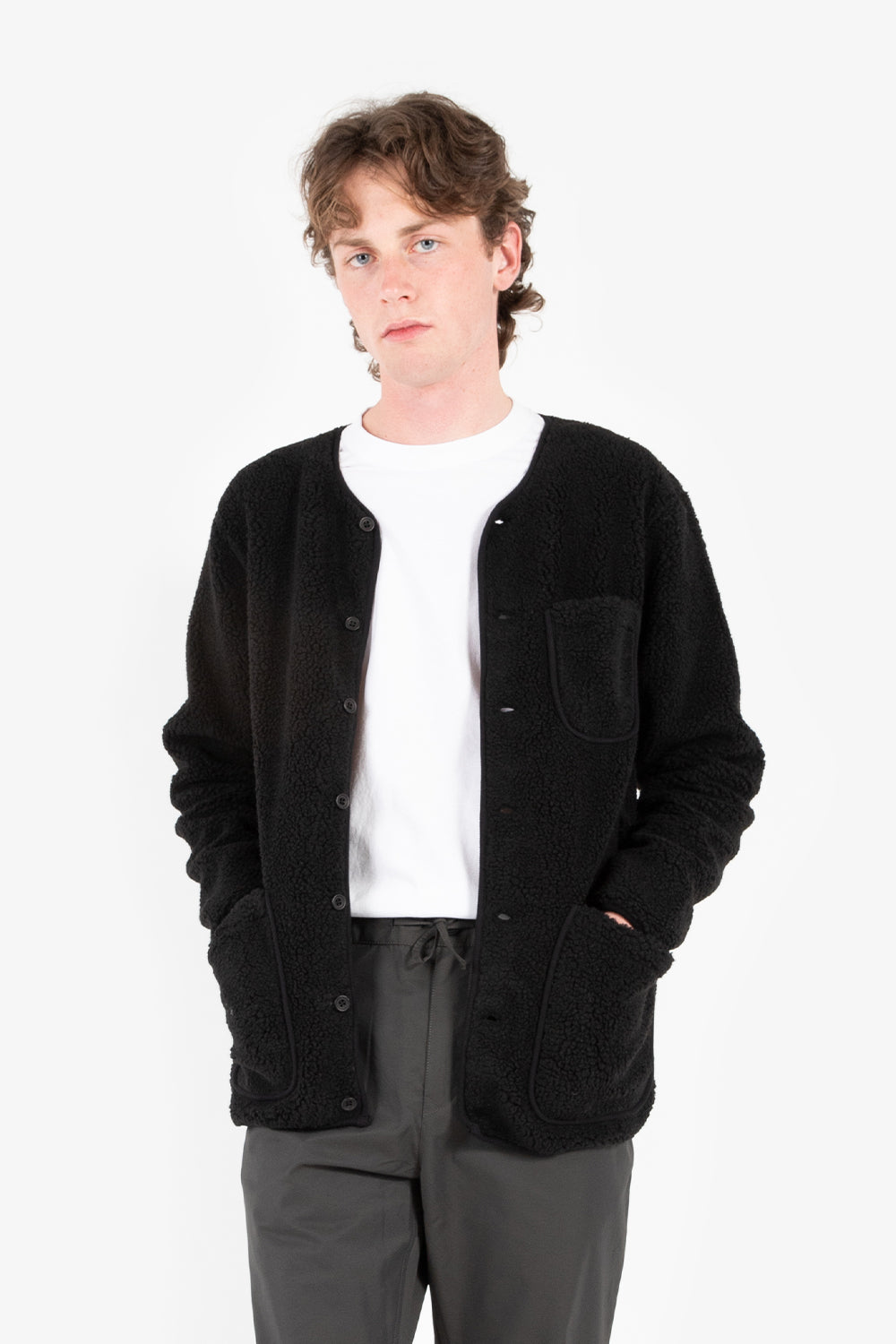 kestin neist fleece black