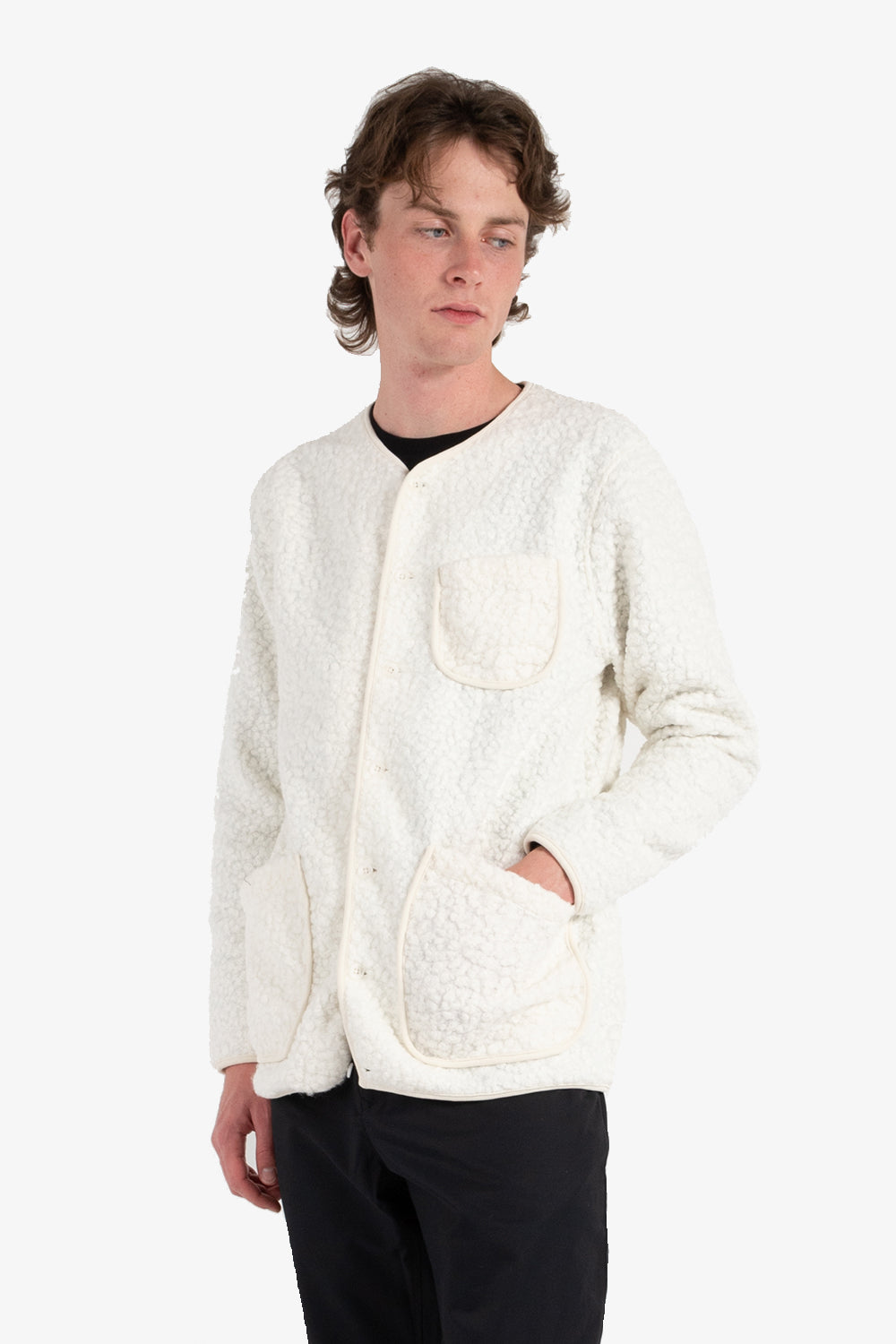 kestin neist fleece white