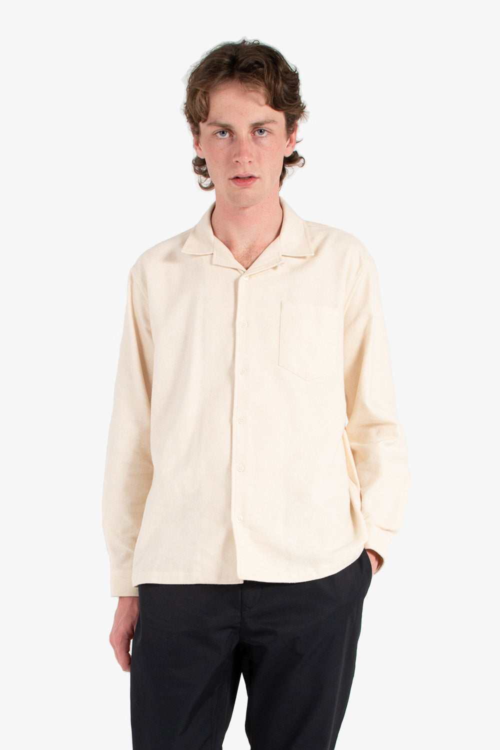 kestin tain shirt winter white