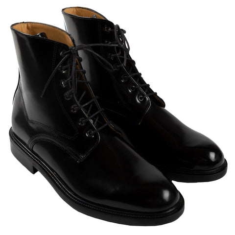 Kleman Boule Vernis Boot Footwear Shoe Workwear Lace Up Black