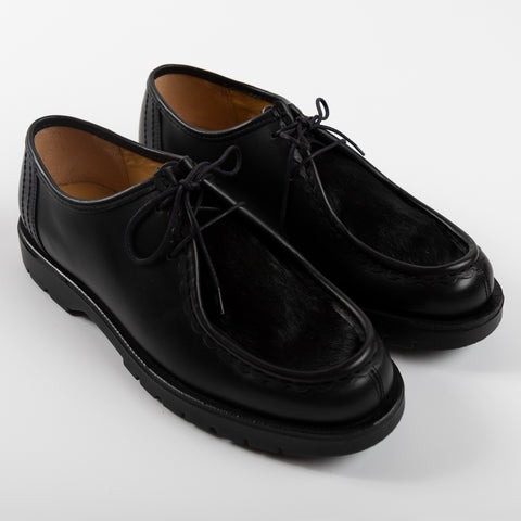 Kleman Padrini Derby Footwear Shoe Workwear Lace Up Black