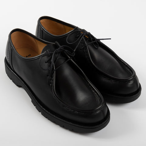 Kleman Padror Derby Footwear Shoe Workwear Lace Up Black