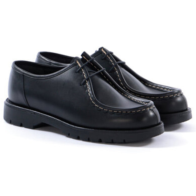 Kleman x Ecole de Pensée Dionee Derby Shoe Collaboration Footwear Black