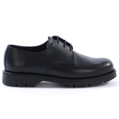 Kleman x Ecole de Pensée Dormance Derby Shoe Collaboration Footwear Black Side Profile
