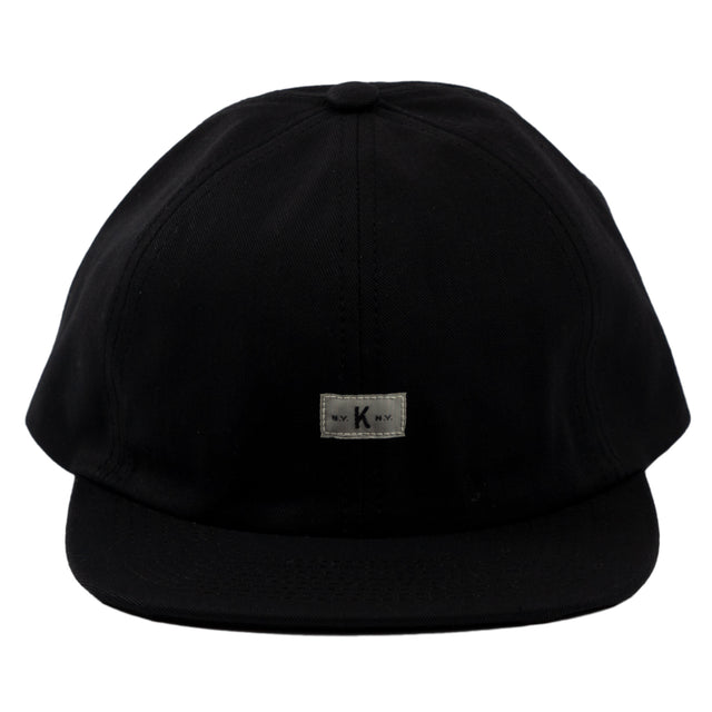 Knickerbocker Icon Ball Cap in Black head wear hat