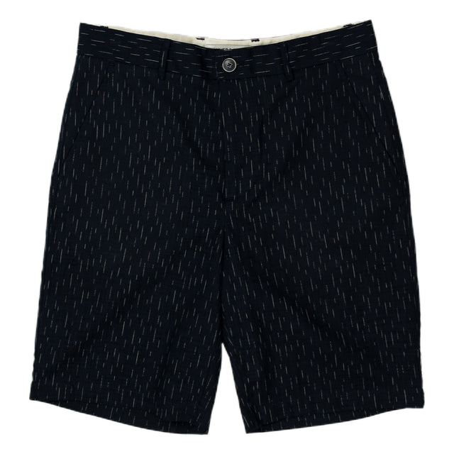 Krammer and Stout Bogart Shorts in Navy Stripe