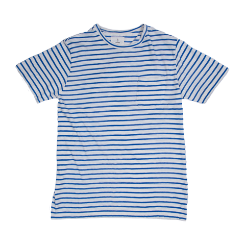 Guerreiro Pocket T-Shirt - Blue Stripes