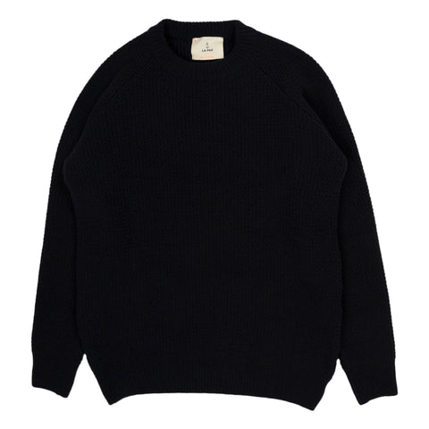 La Paz Novo Raglan Sleeves Sweater in Navy