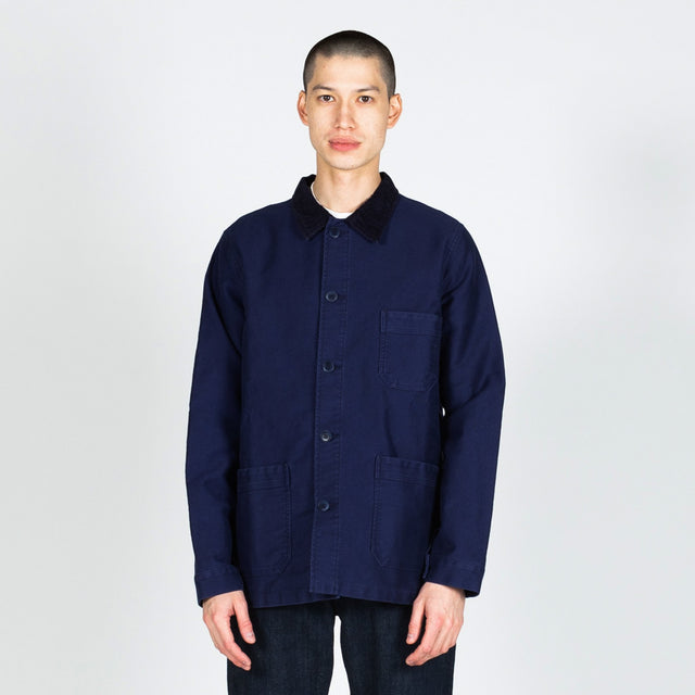 Le Mont Saint Michel GQ Work Jacket in Blue