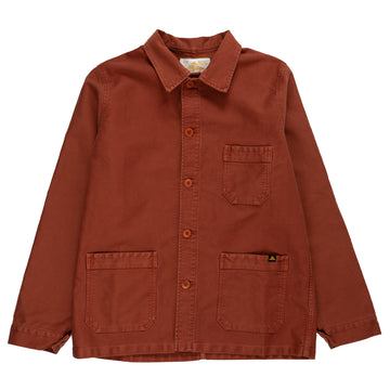 le mont st michel genuine work jacket brick