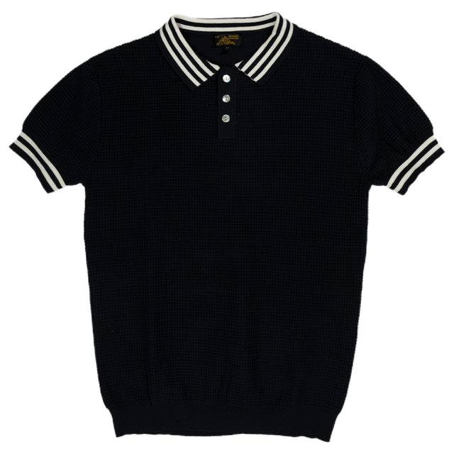 Le Mont St Michel Polo Sweater Navy