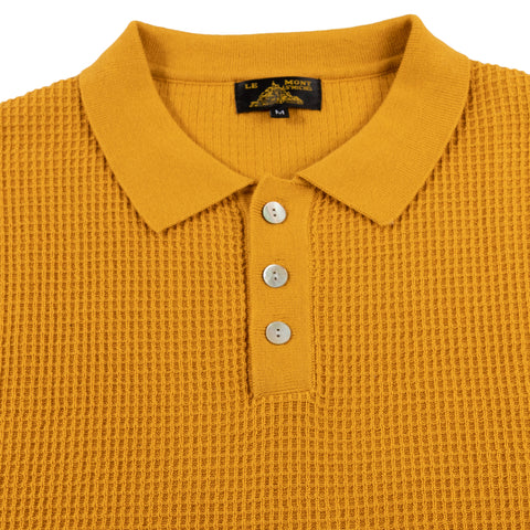 Solid Color Polo - Curry