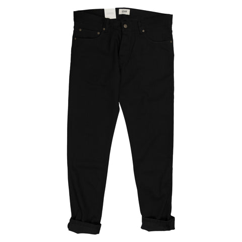 edvard skinny selvedge japan black denim