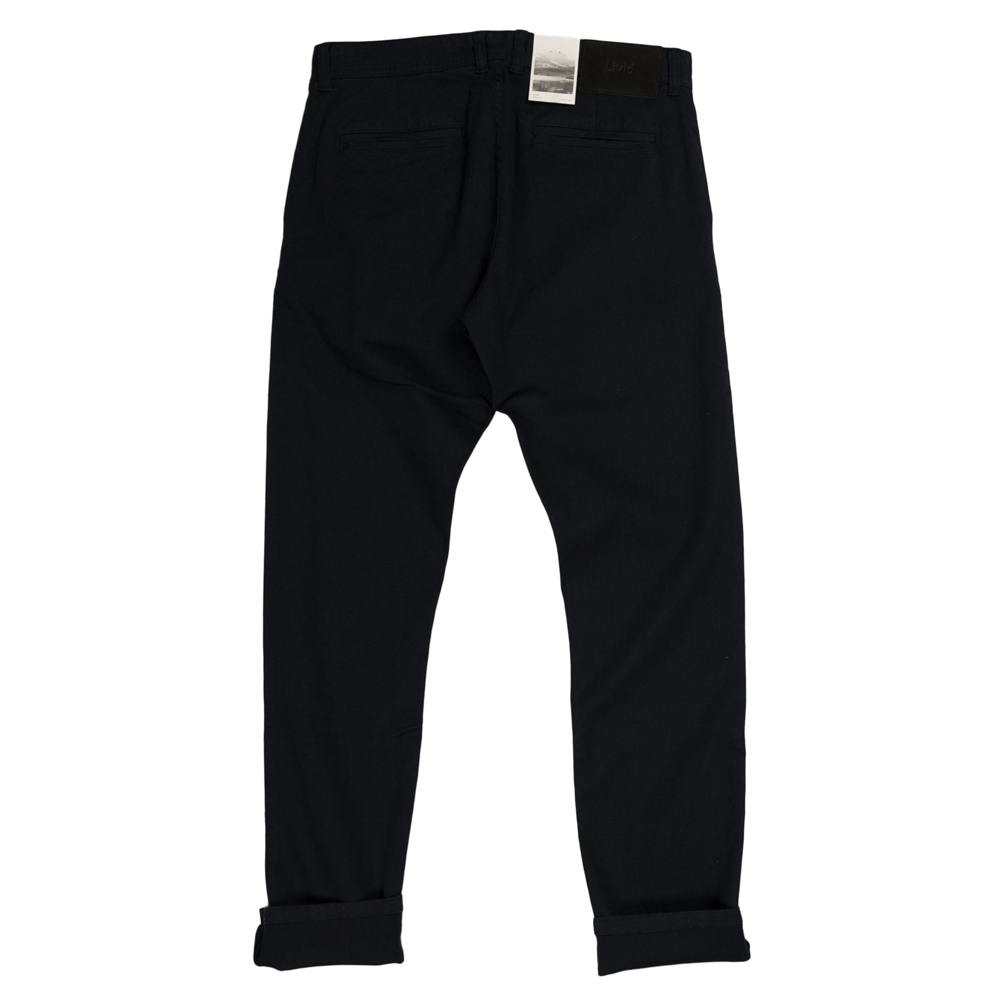 livid jone japan navy trousers