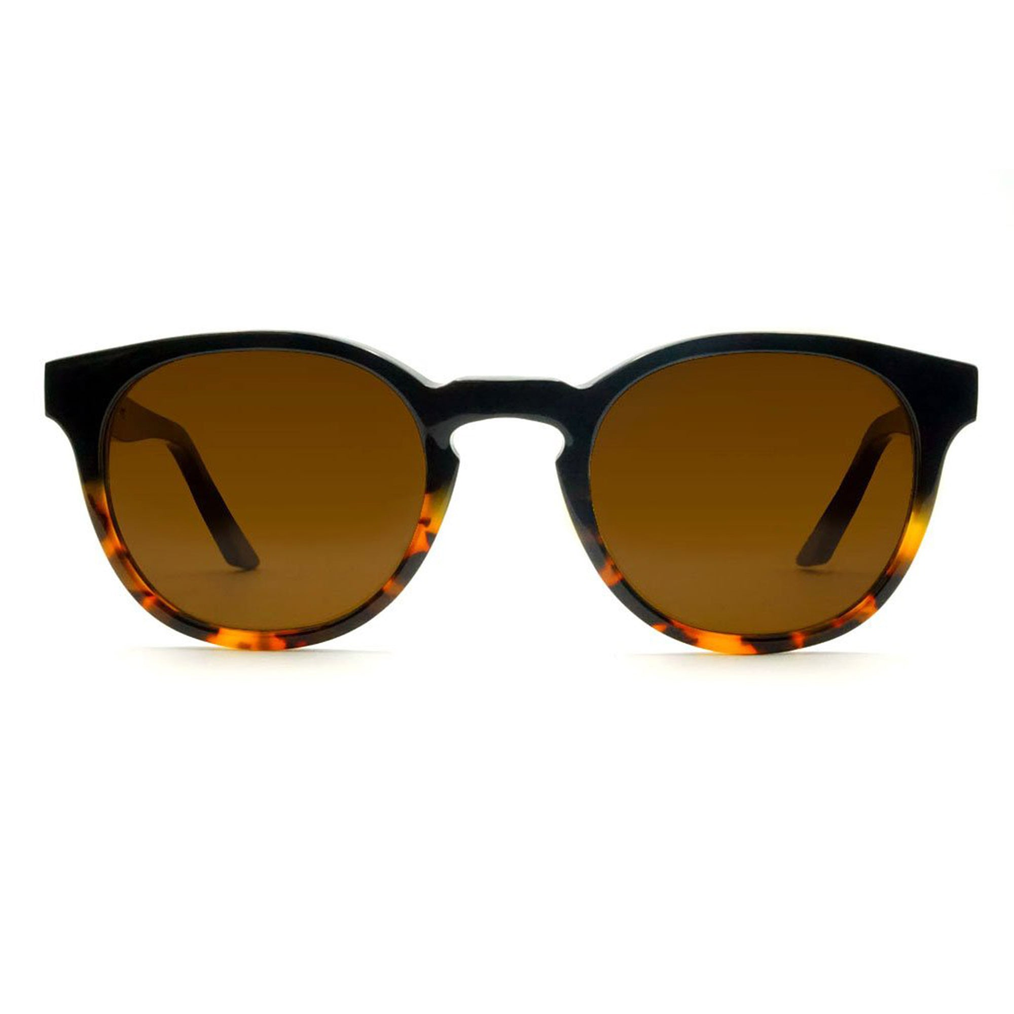 Lowercase Marlton Sunglasses in Black Amber
