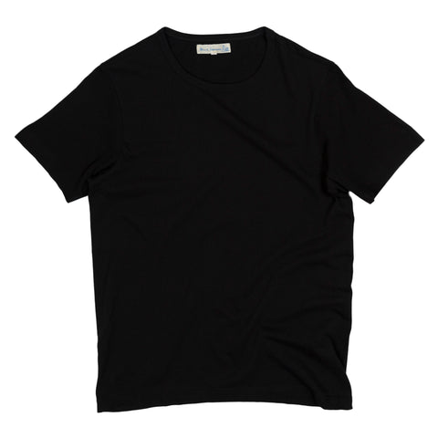 merz b schwanen 1950s tee in deep black