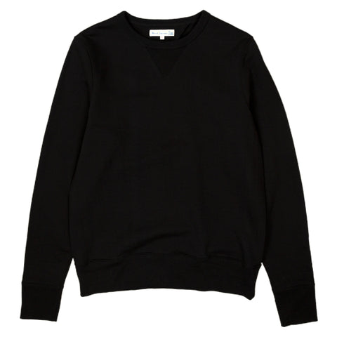 merz b schwanen 346 sweatshirt in deep black