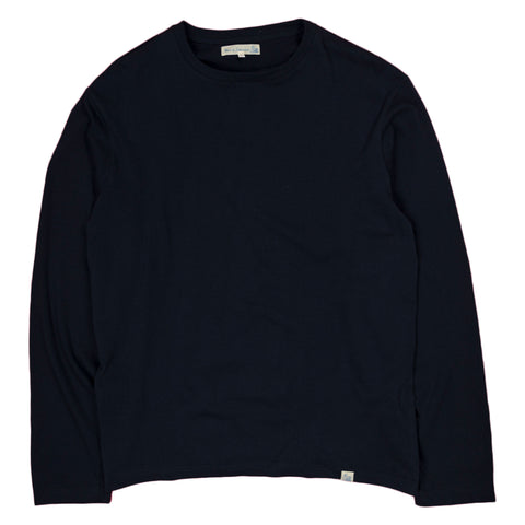 Crewneck LS Tee Oversized - Ink Blue