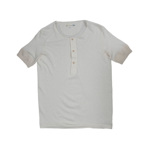Workers' Short Sleeve Button Shirt - Natural