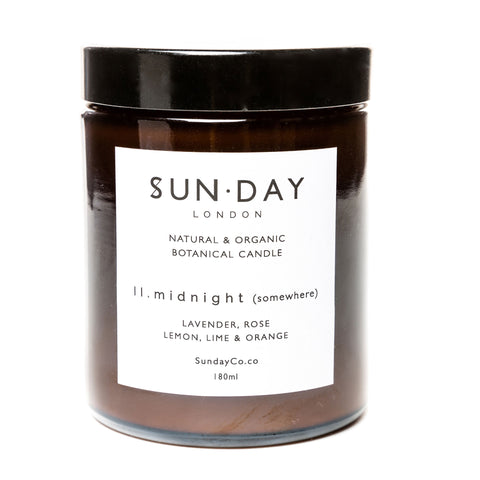 Midi 180ml Candle - Midnight (Somewhere)