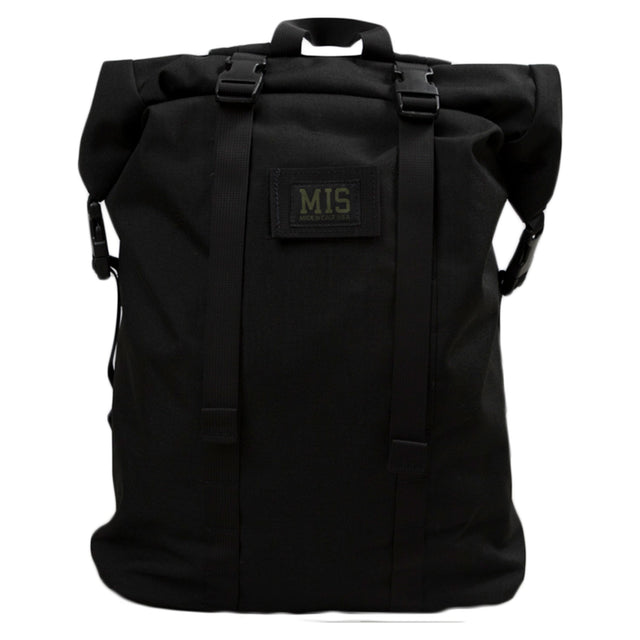 M.I.S Bags Roll Up Backpack Black