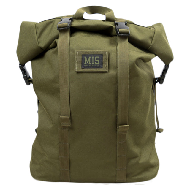 Roll Up Backpack - Olive
