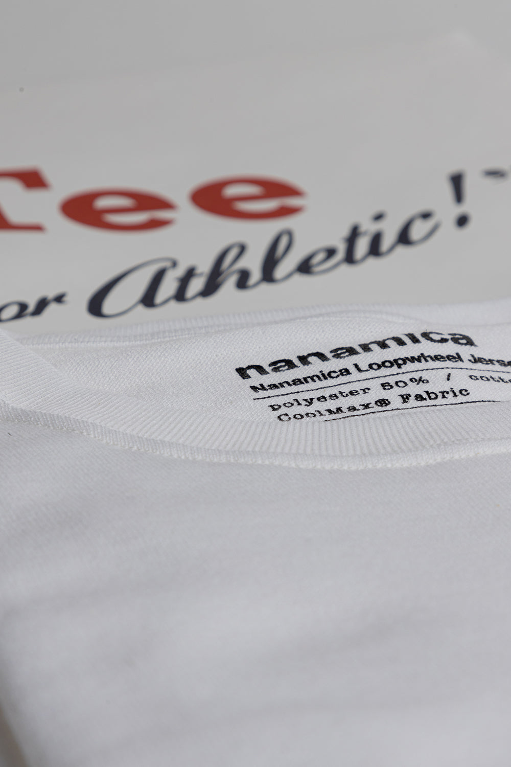 Nanamica Coolmax Tee in White