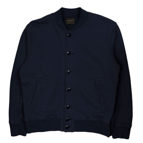Stadium Jacket Heavyweight Terry - Navy