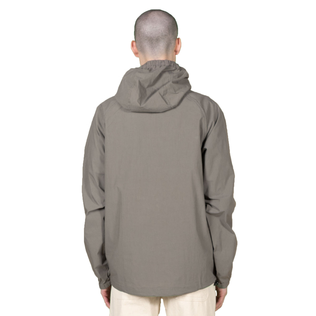 Hooded Paper Jacket - Green