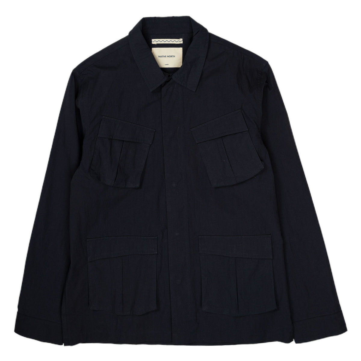 Native North Thorvald Paper Jacket in Navy